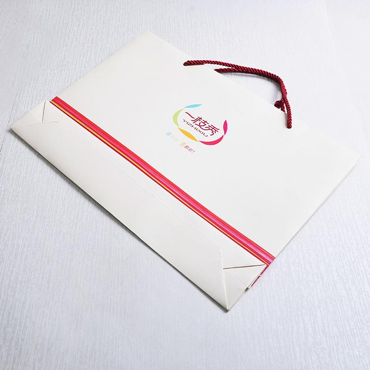 上一枝秀纸袋logo