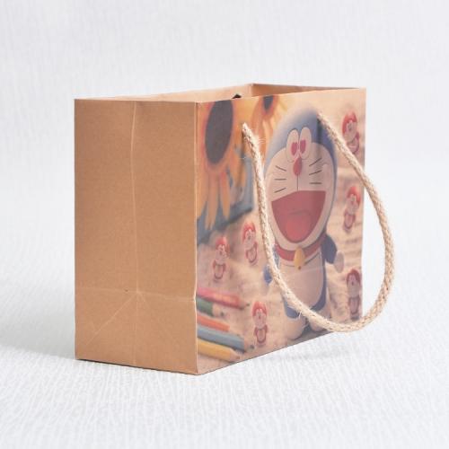 机器猫纸袋LOGO
